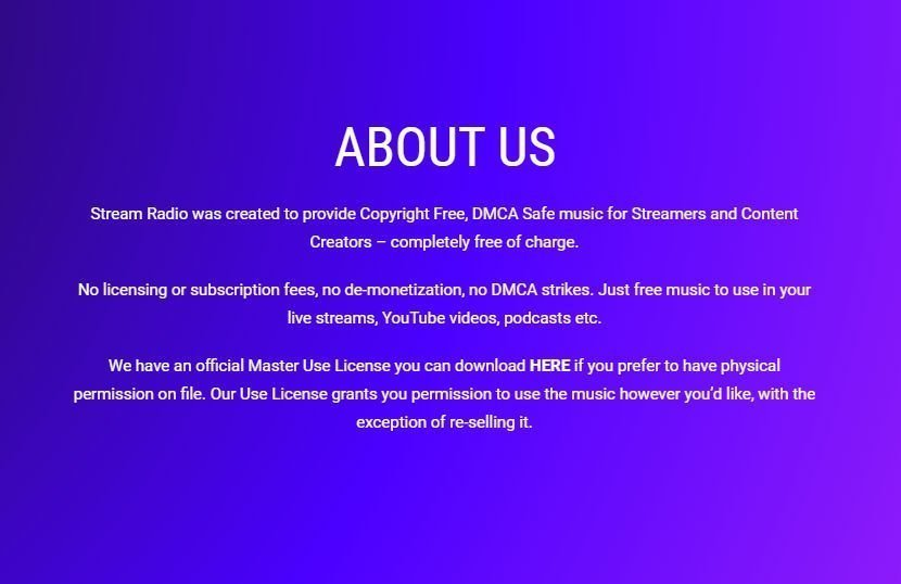 DMCA safe music on Twitch & YouTube