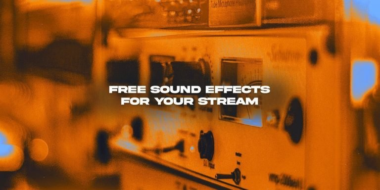 Free Sound Effects for use on Twitch, YouTube, Facebook, ands more!
