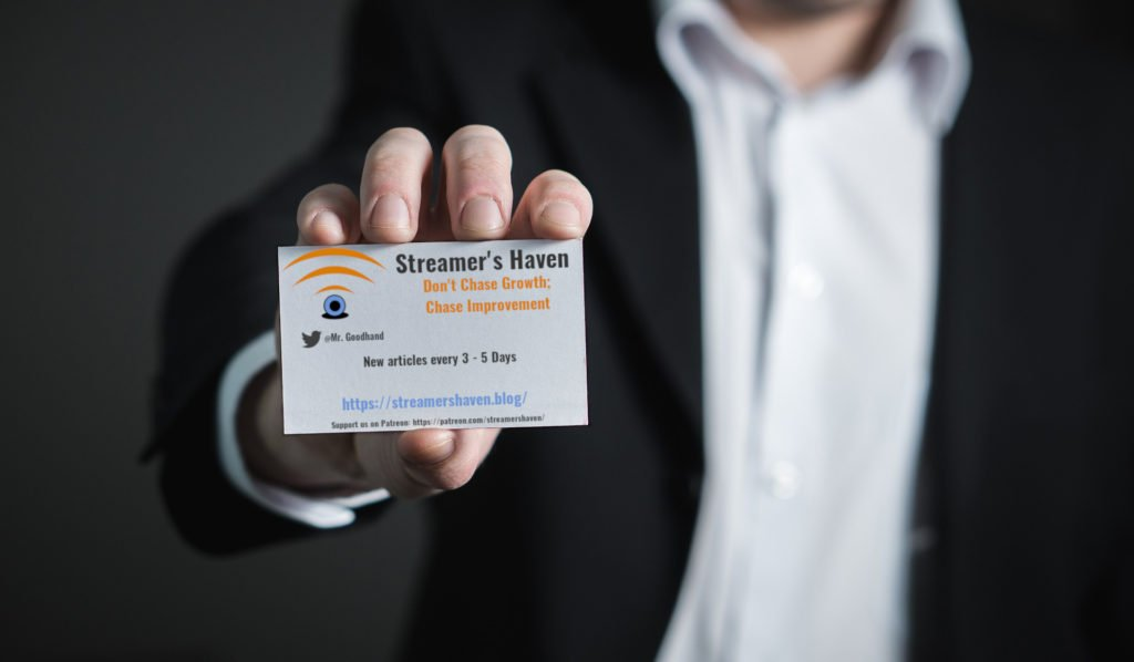 Example Business card.