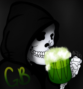 GrimmBoozy Logo (Temporary)