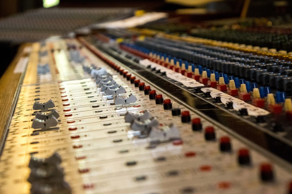 Audio Mixers are production grade Audio Equipment