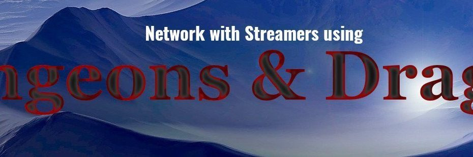 Network with streamers using DND