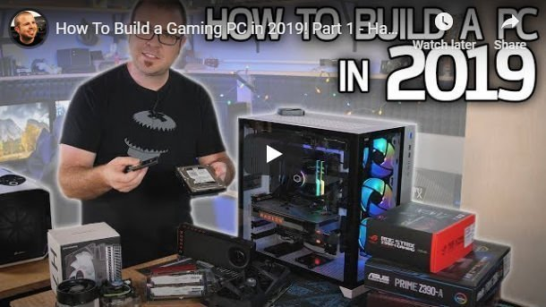 How to build a Gaming  PC by Paul's Hardware