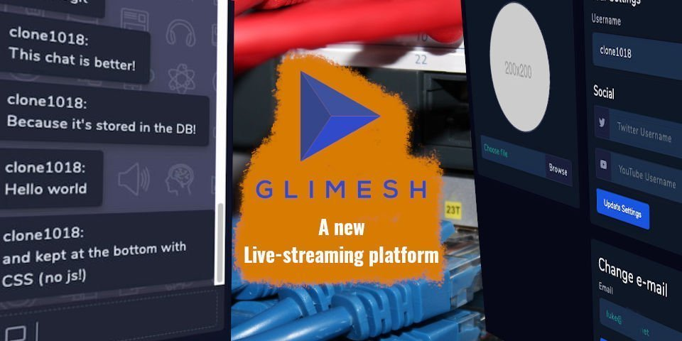 A Glimmer Of Hope - Glimesh, A New Live-streaming Platform