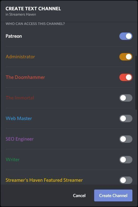 Assign Discord Roles