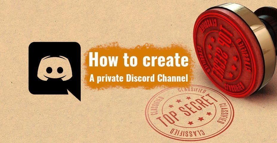 How to create a Discord Private Channel