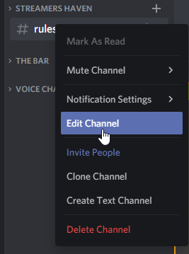 Ensure you edit Discord Channel permissions.
