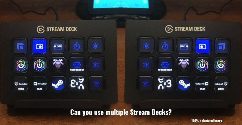 Can you use multiple stream decks at the same time?