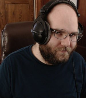 Me wearing the beyerdynamic DT 770 Pros Looking a bit silly. Easily the best headphones I have ever used