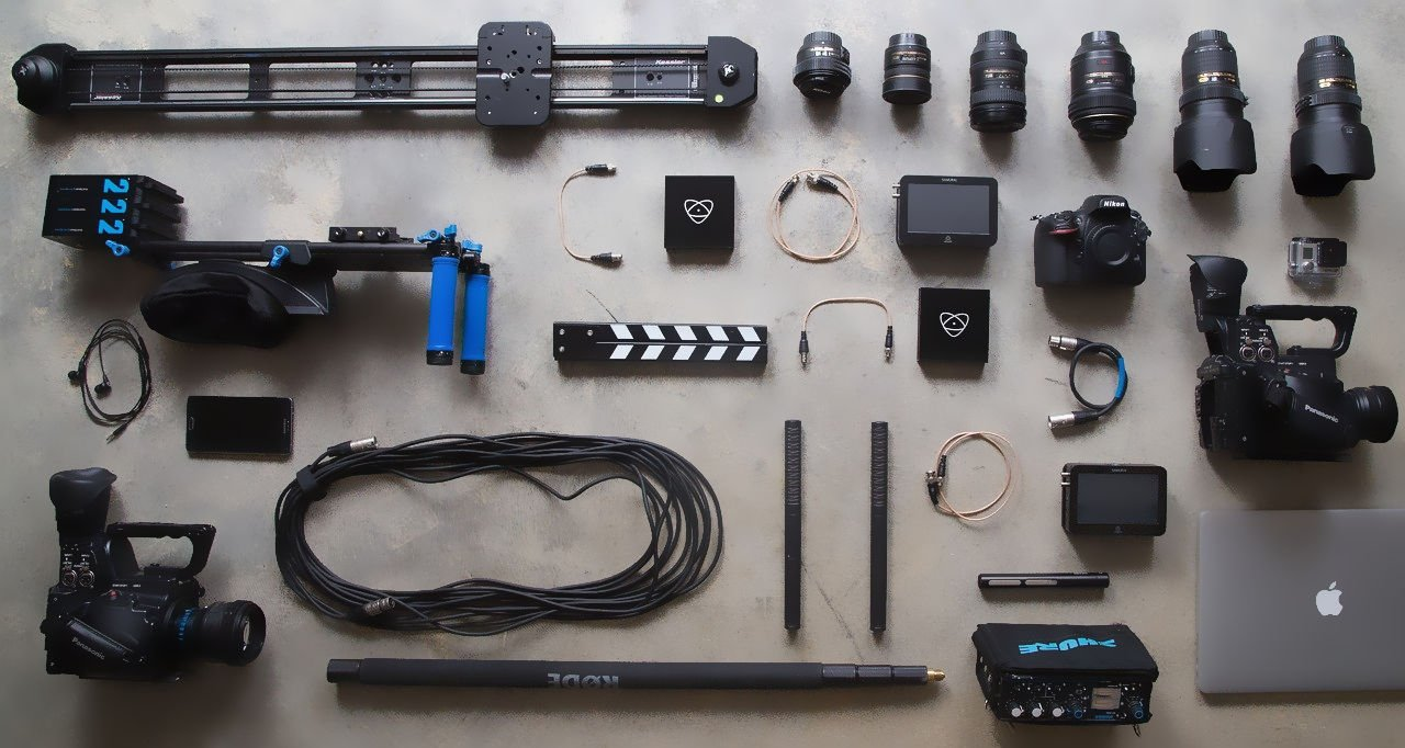 Start a YouTube channel, but don't dive into all of the professional gear right away.