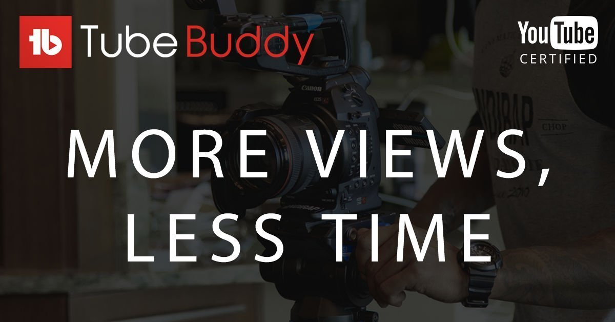 TubeBuddy, one of the useful tools to help manage a YouTube Channel effectively | Affiliate Banner