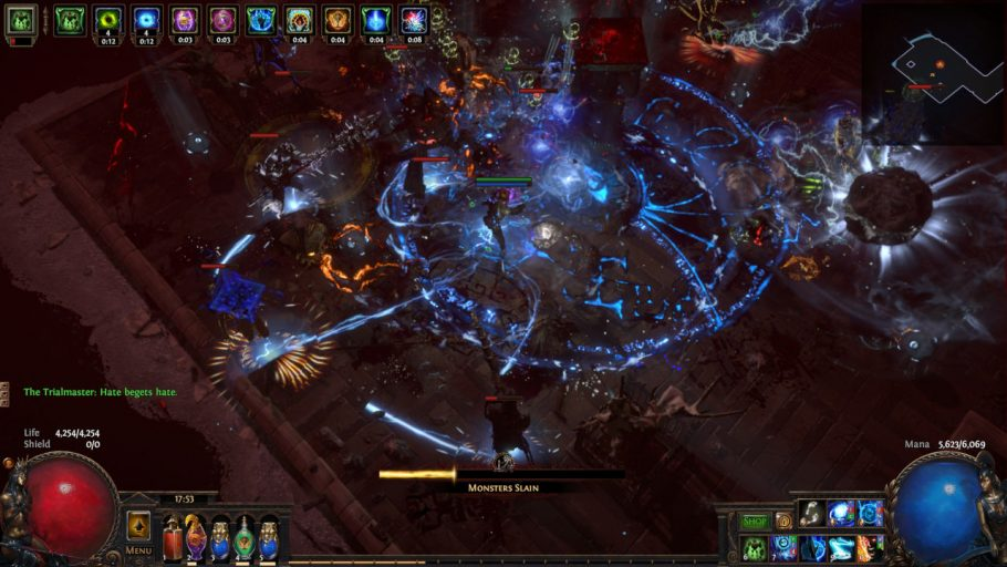 Path of Exile Review - Combat & loot.