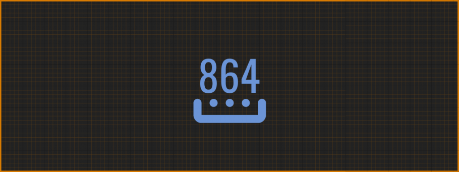 Streaming Resolution: 864p