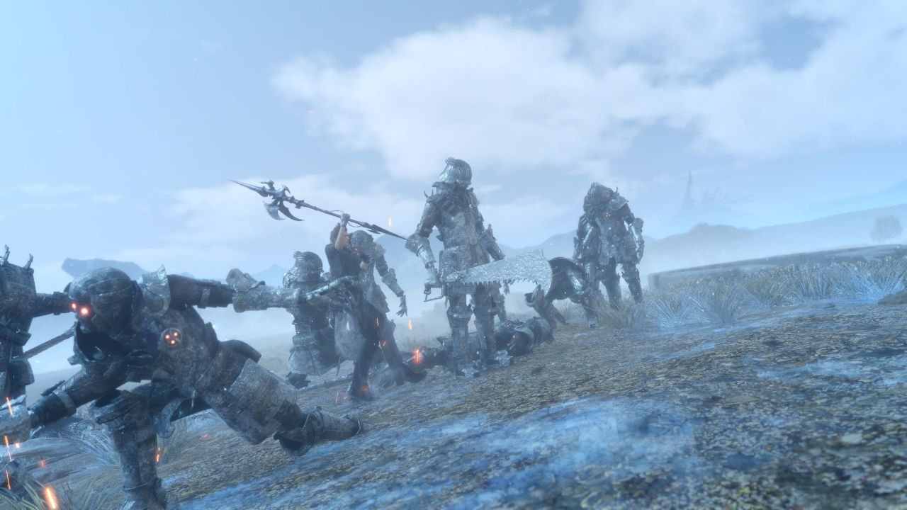 Imperial Soldiers in Final Fantasy 15 - The Magitech Army