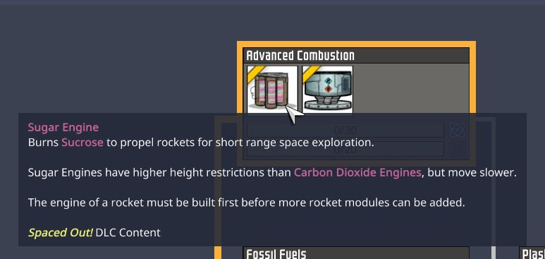 Early Access to Rocket Technology in Spaced out Oxygen Not Included DLC
