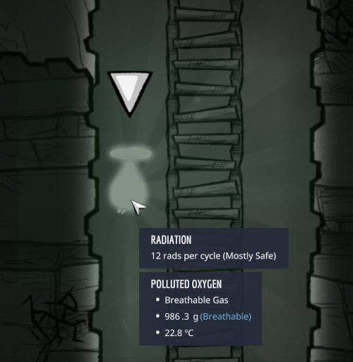 Shine bugs give off Radiation in Oxygen Not Included