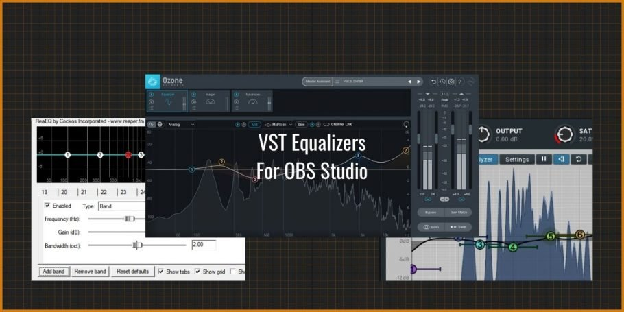 VST Equalizers for OBS Studio - Free and Paid