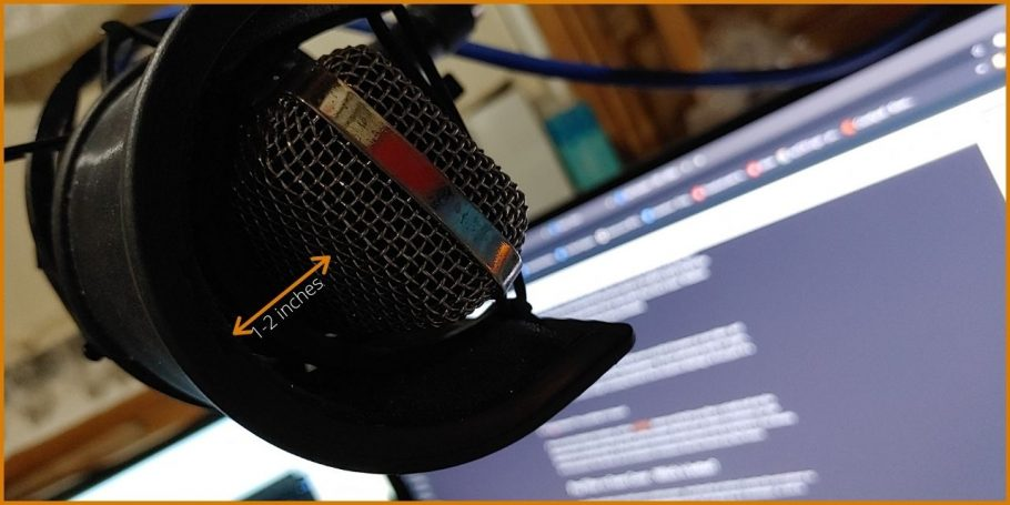 My Tonor BM 700 microphone and Pop Filter