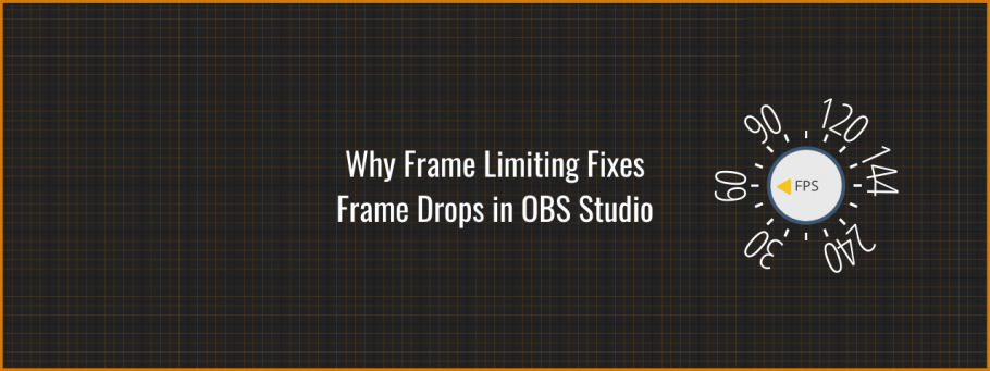 How Frame Limiting fixes frame drops in OBS Studio