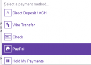 Twitch Affiliate Payout options
