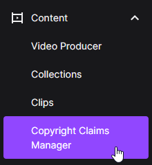 Copyright Claims Manager