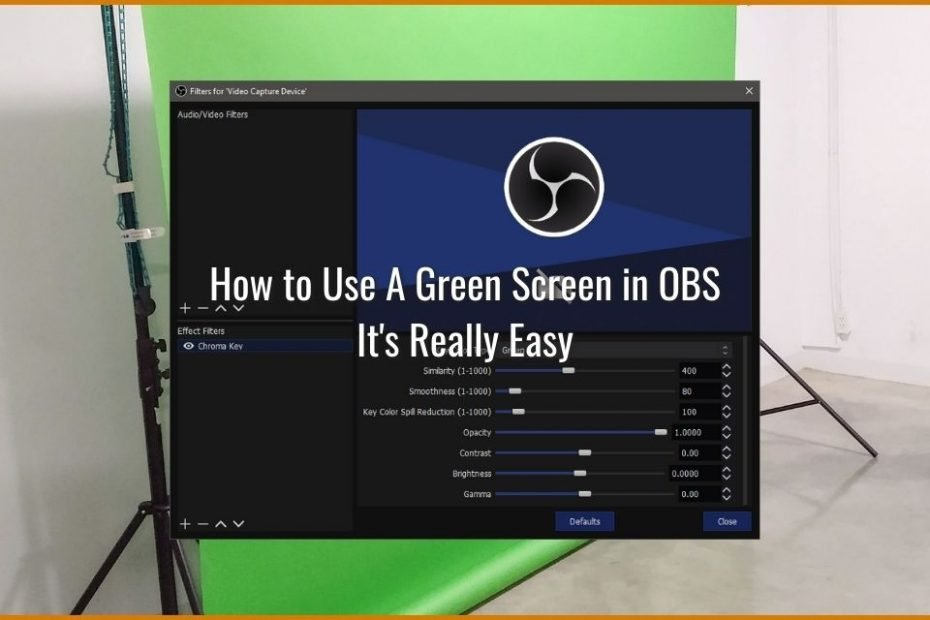 How to Use A Green Screen in OBS - It's Really Easy